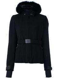 belted hooded jacket Moncler Grenoble