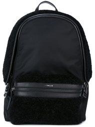 рюкзак с панелью из искусственного меха Moncler