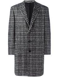 пальто в клетку Canali