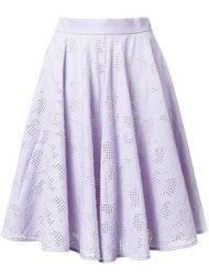 юбка в складку с вышивкой Mikio Sakabe