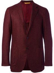 пиджак с заплатками на локтях Canali