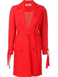 belted coat Preen By Thornton Bregazzi