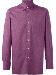 рубашка с нагрудным карманом Canali