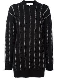 свитер с цепочной отделкой  McQ Alexander McQueen