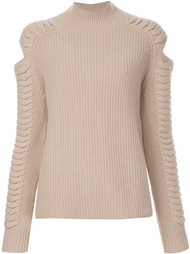 cut-out detail ribbed jumper Zoe Jordan