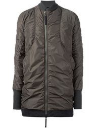 длинная куртка-бомбер Ziggy Chen
