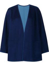 draped cropped jacket Lafayette 148
