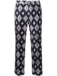 пижамные брюки с геометрическим принтом For Restless Sleepers