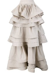 three layer ruffle skirt Rosie Assoulin