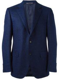 пиджак в елочку Canali