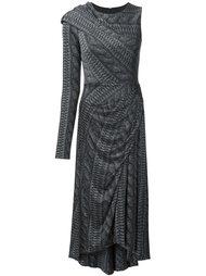 платье с одним рукавом  Christian Siriano