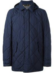 куртка-пуховик с капюшоном Canali