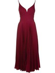 pleated cami dress Nicole Miller