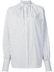 объемная рубашка в полоску Tome