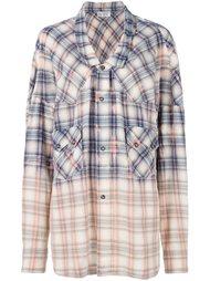 клетчатая рубашка Faith Connexion