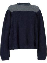 двухцветный свитер Kolor