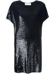 платье шифт с пайетками Iro