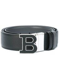 logo plaque belt Bally