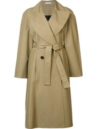 пальто с вышивкой на спине Tome