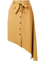 асимметричная юбка с поясом Tome