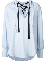 блузка со шнуровкой Tome