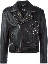 байкерская куртка с заклепками Enfants Riches Deprimes