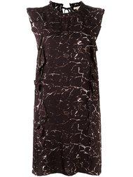 короткое платье с комбинированным принтом Bellerose