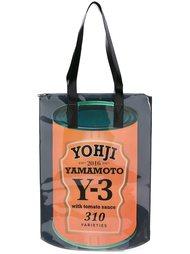 сумка-тоут с графическим принтом Y-3