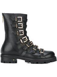 multiple buckles boots Cesare Paciotti