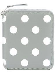polka-dot zipped wallet Comme Des Garçons Wallet