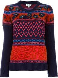 декорированный свитер  Kenzo