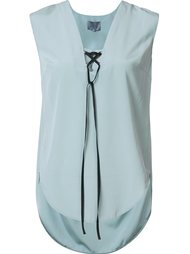 lace-up tank top Maiyet