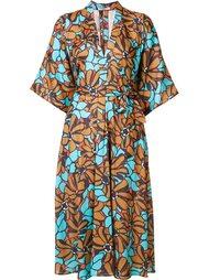 платье-рубашка с цветочным узором Tome