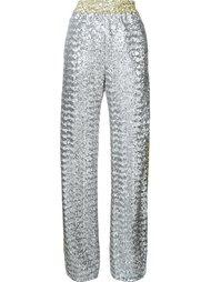 sequin wide leg trousers Faith Connexion