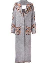 ethnic pattern coat Giada Benincasa