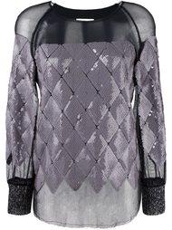 прозрачная блузка Aviù