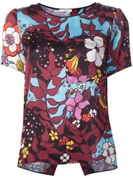 floral print T-shirt  Tome