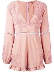 v-neck playsuit For Love And Lemons