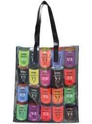 сумка-тоут с принтом логотипов Y-3