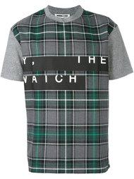 футболка в клетку  McQ Alexander McQueen
