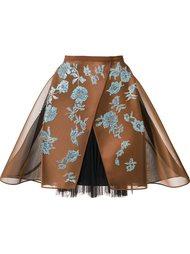 crinoline lace skirt  Delpozo