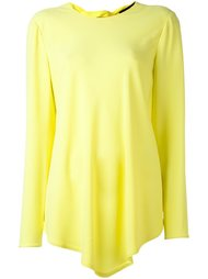 блузка с неравномерным подолом Proenza Schouler