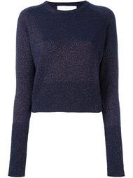 glittery cropped pullover Giada Benincasa