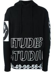 толстовка с принтом-логотипом Études