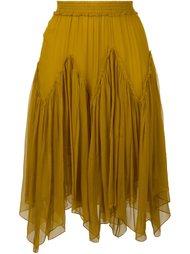 юбка с оборками Chloé