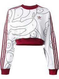 толстовка с узором  Adidas Originals
