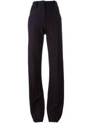 классические полосатые брюки Cédric Charlier