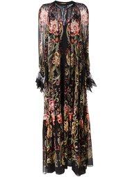 вечернее платье 'Galaxy Garden' Roberto Cavalli