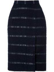 юбка-карандаш в полоску Lamarck