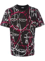 'abstract faces' T-shirt Haculla